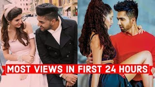 top 15 most viewed indianbollywood songs in first 24 hours