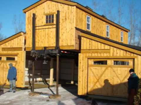Modular Barn Garage Rockyridge Builders Wmv Youtube