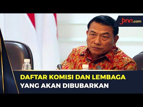 Moeldoko Bocorkan Rencana Jokowi yang Akan Bubarkan 18 Komisi