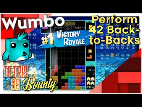 "Tetris 99 Bounty - ""42 Back-to-Backs"""