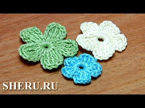 How To Crochet Simple Flower