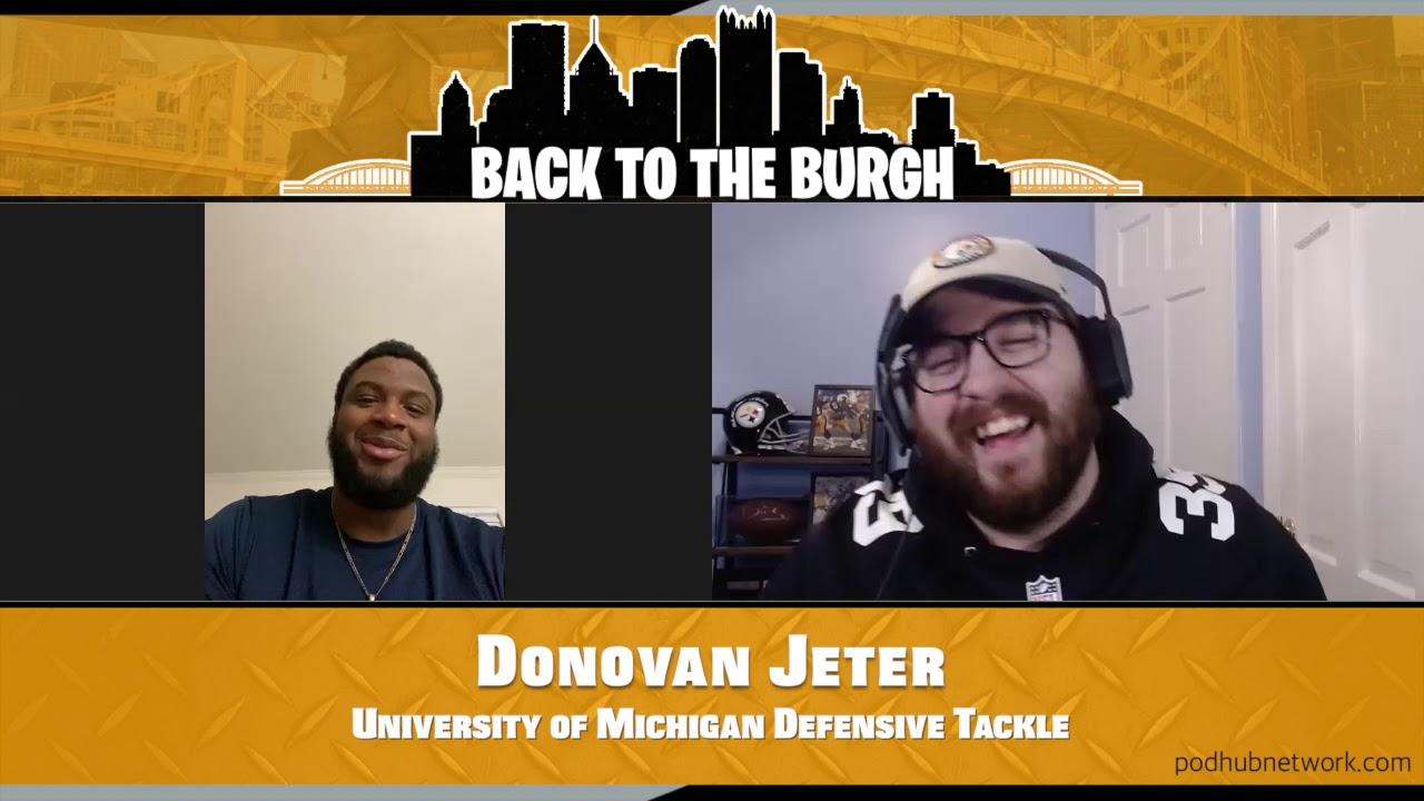 University of Michigan Defensive Tackle Donovan Jeter
