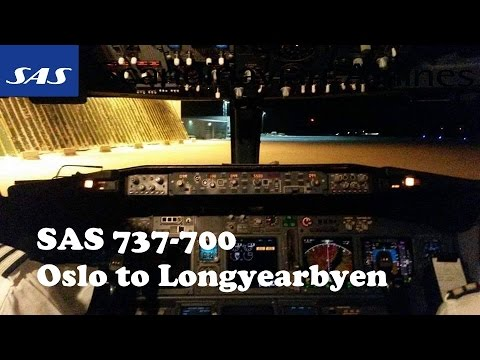 SAS SK4414 (Oslo,OSL-Tromsø,TOS- Longyearbyen,LYR) (737-800)