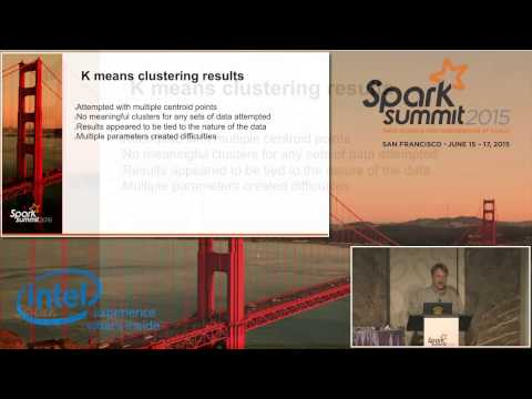 Use of Spark MLlib for Predicting the Offlining of... - Christopher Burdorf (NBC Universal)