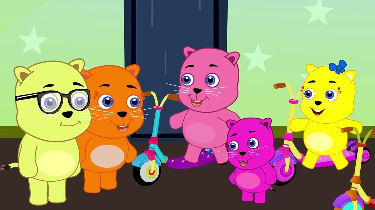 Cat Finger Family | Finger Family Songs | Nursery Rhymes for Babies