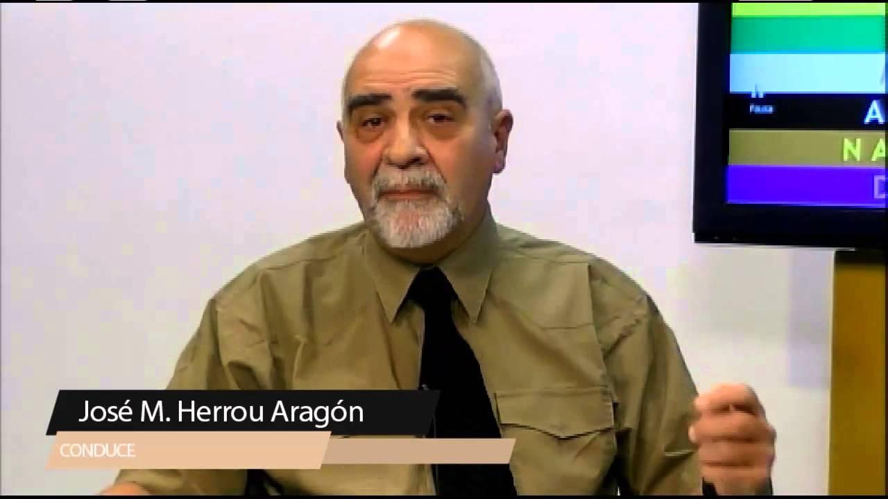 2. José María Herrou Aragón habla contra la sinarquía internacional