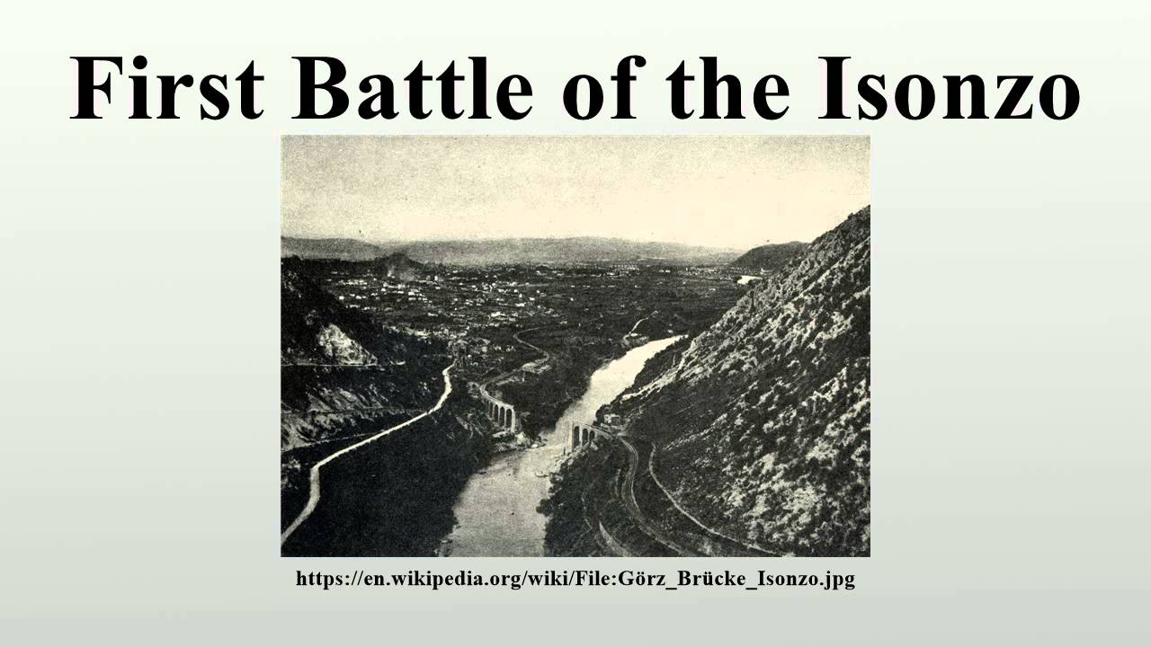 First battle of the isonzo youtube sciox Gallery