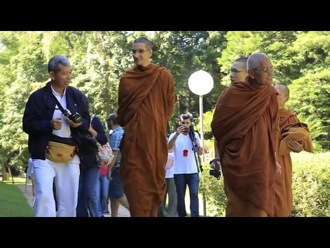 O primeiro monastério Theravada no Brasil/ The first Theravada monastery in Brazil.