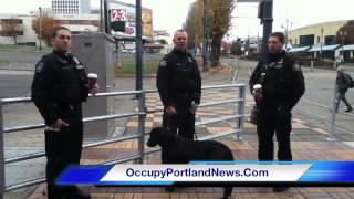 Police Dogs On Pdx Mass Transit