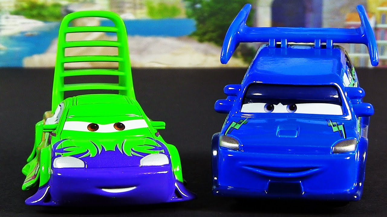 Dj and wingo with flames new 2013 disney pixar cars die cast release youtube - Coloriage cars wingo ...