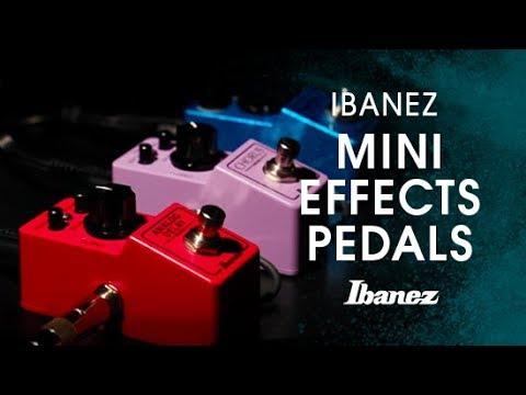 Ibanez Mini Effects Pedals - ADMINI, CSMINI, and SMMINI