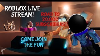 ROBLOX STREAM! Come join the fun! :D