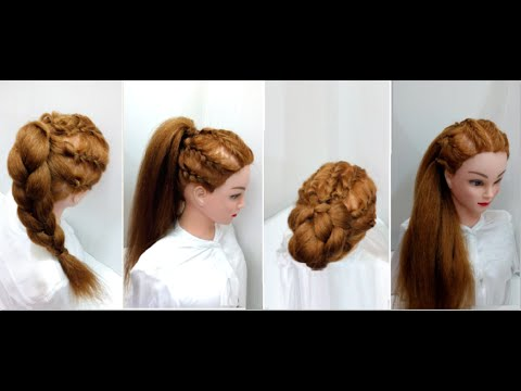 Hairstyles for short to long hair: Sports Hairstyles - YouTube