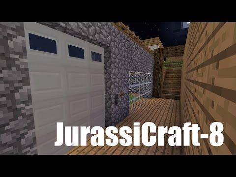 VFW - Minecraft 1.7.10 MOD JurassiCraft EP 8 กรงใหม่