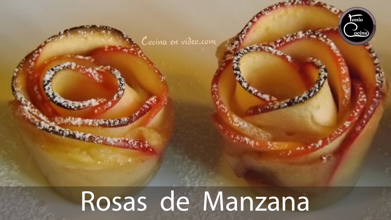 Recetas De Cocina Navideñas Faciles | Rosas De Hojaldre Y Manzana Faciles Y Muy Sabrosas Youtube