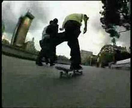 CLN square.El pan de cada dia skate video.