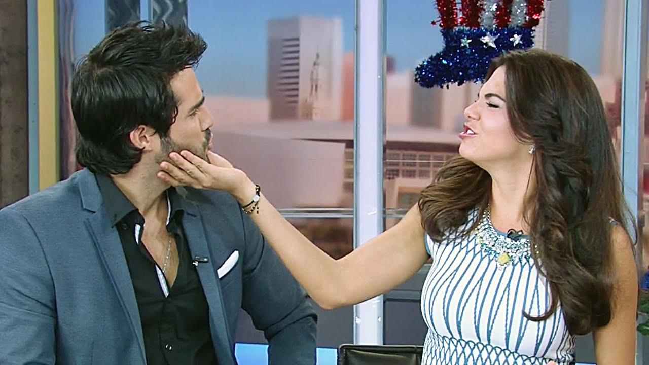 Livia Brito y José Ron aclararon si tienen un romance