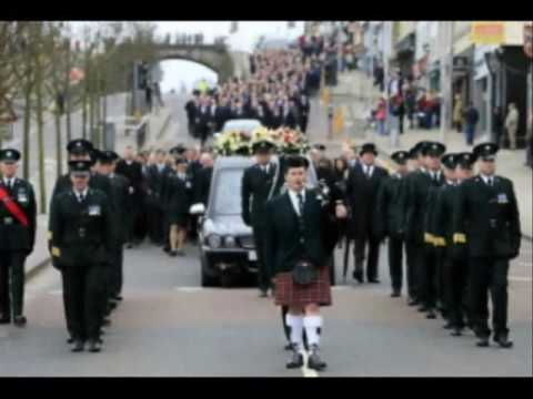 Tribute to Ireland's Police Forces, Heroes or Ghosts by the Corona's