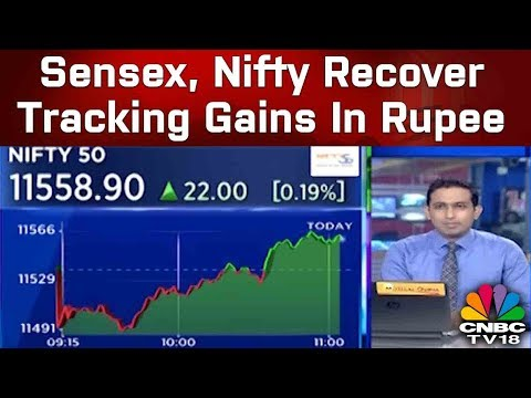 Sensex, Nifty Recover Tracking Gains In Rupee, Auto, FMCG Shares Rise | Trading Hour | CNBC-TV18