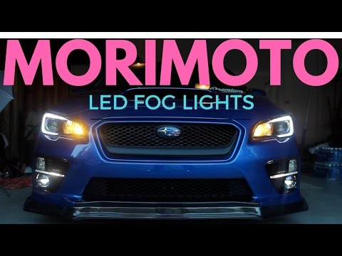 subaru forester fog light installation instructions