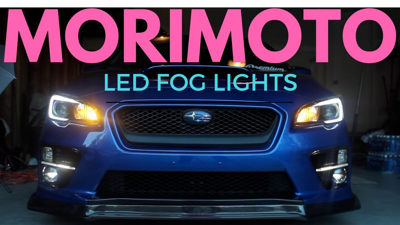 Morimoto Led Fog Lights