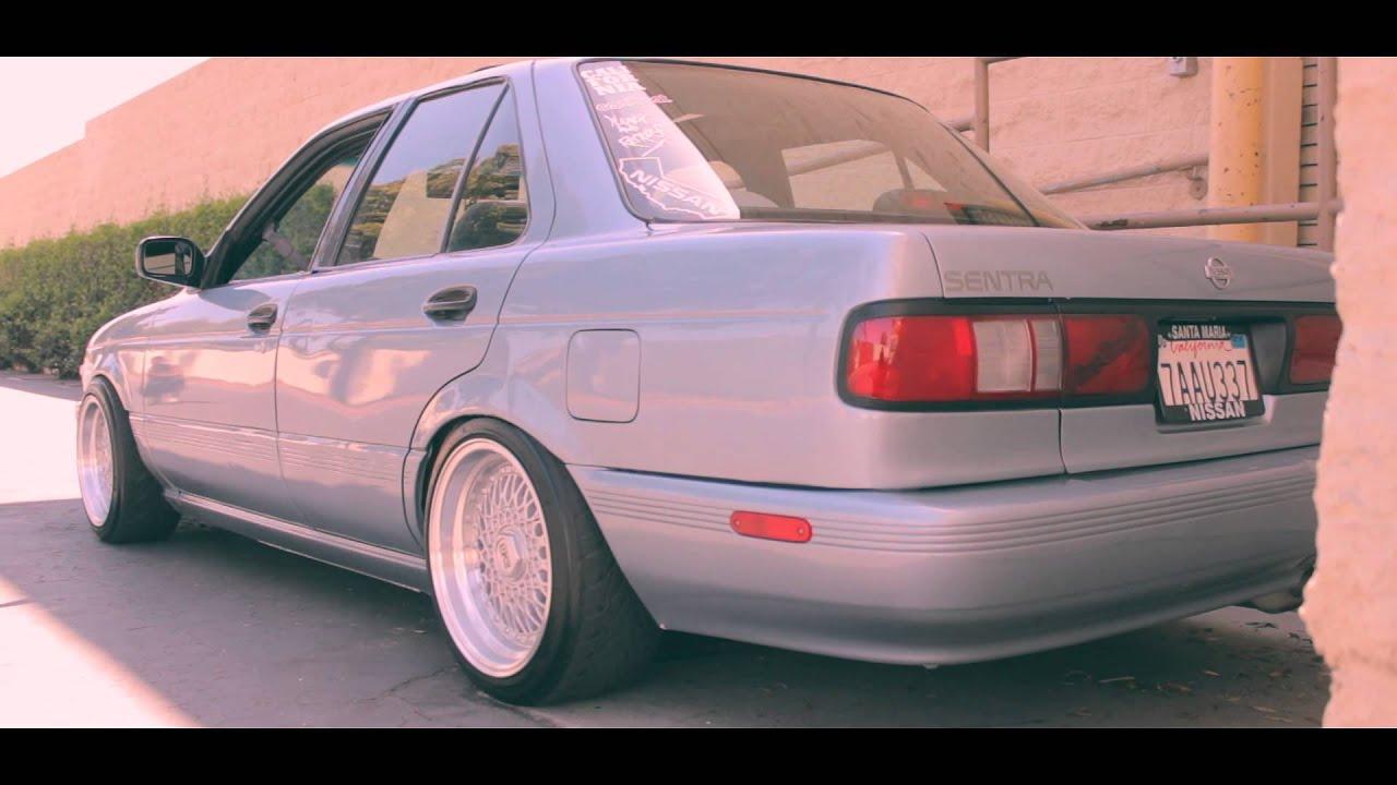 One Clean A** Sentra B13   Studdz Films - YouTube