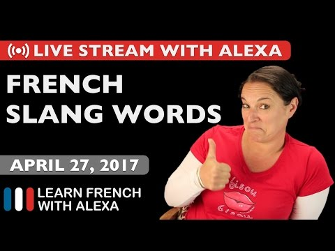 Alexa teaches you some French slang words