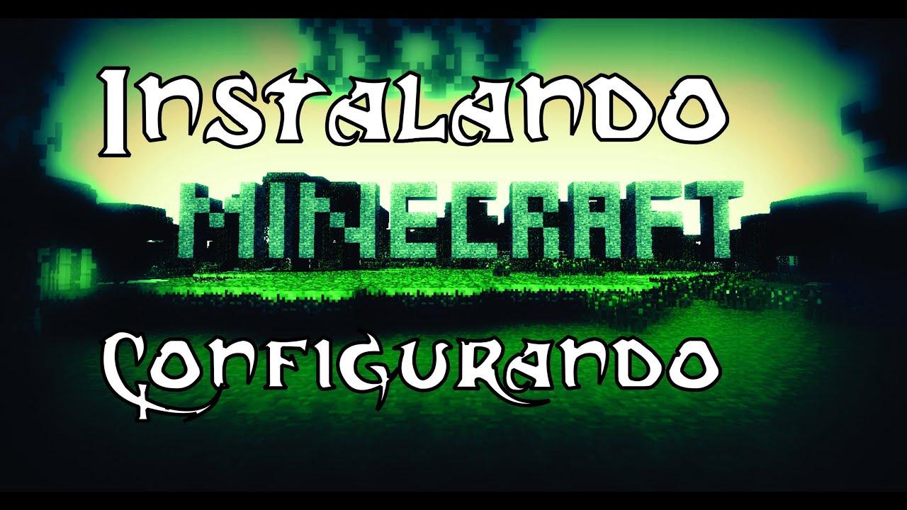 Como Instalar Minecraft e Reduzir Lag #1
