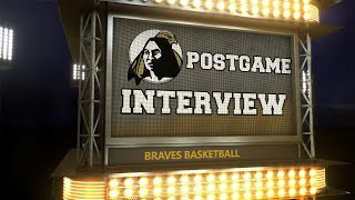 Braves Postgame Intereview: Basketball vs. Young Harris