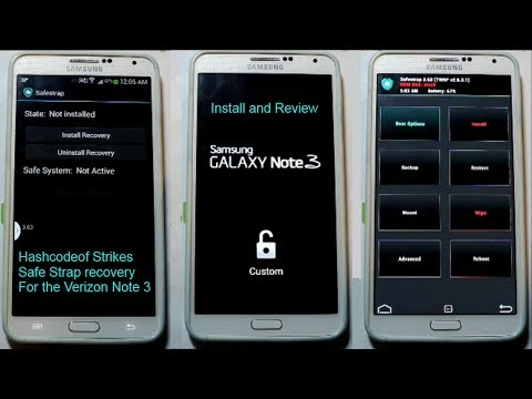 How-To: Install Safestrap Recovery On The Verizon Galaxy
