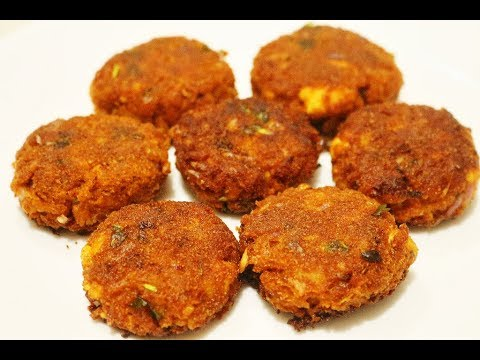 Aval Cutlet Recipe-Poha Cutlet Recipe-Vegetable Cutlet Recipe-Evening Snacks Recipe In Tamil