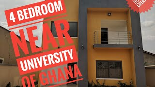 Home for Sale ll Near University of Ghana ll 4 bedroom l 45 bath ll 250k
