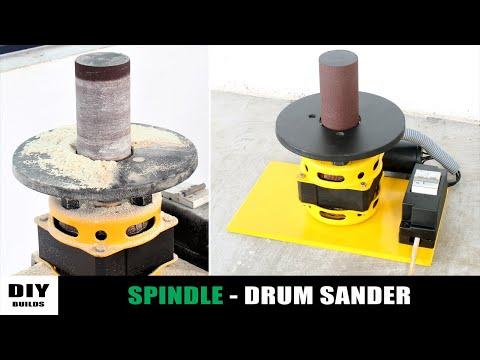 Making Spindle Drum Sander | Homemade Drum Sander | Diy Tools | Diamleon Diy Builds