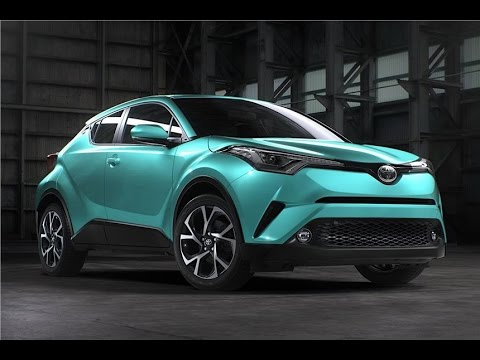 Toyota C-HR Official Review Video - Photo - Pics - Images - First Drive - Exclusive