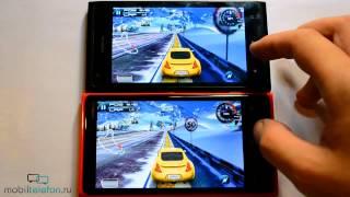 Nokia Lumia 920 vs Lumia 900: сравнение в играх и тд (speed comparison)