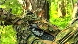 Искусство снайпера. Способ стрельбы стоя с использованием ремня.