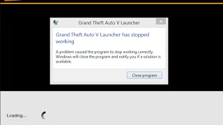 GTA 5 PC Launcher has stopped working FIX (Laptop)