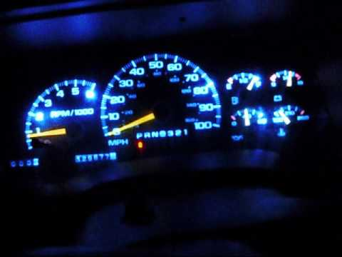 Chevy Tahoe L E D Gauge Conversion Youtube