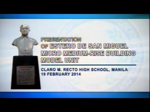 Presentation of Estero de San Miguel Micro Medium-Rise Building Model Unit
