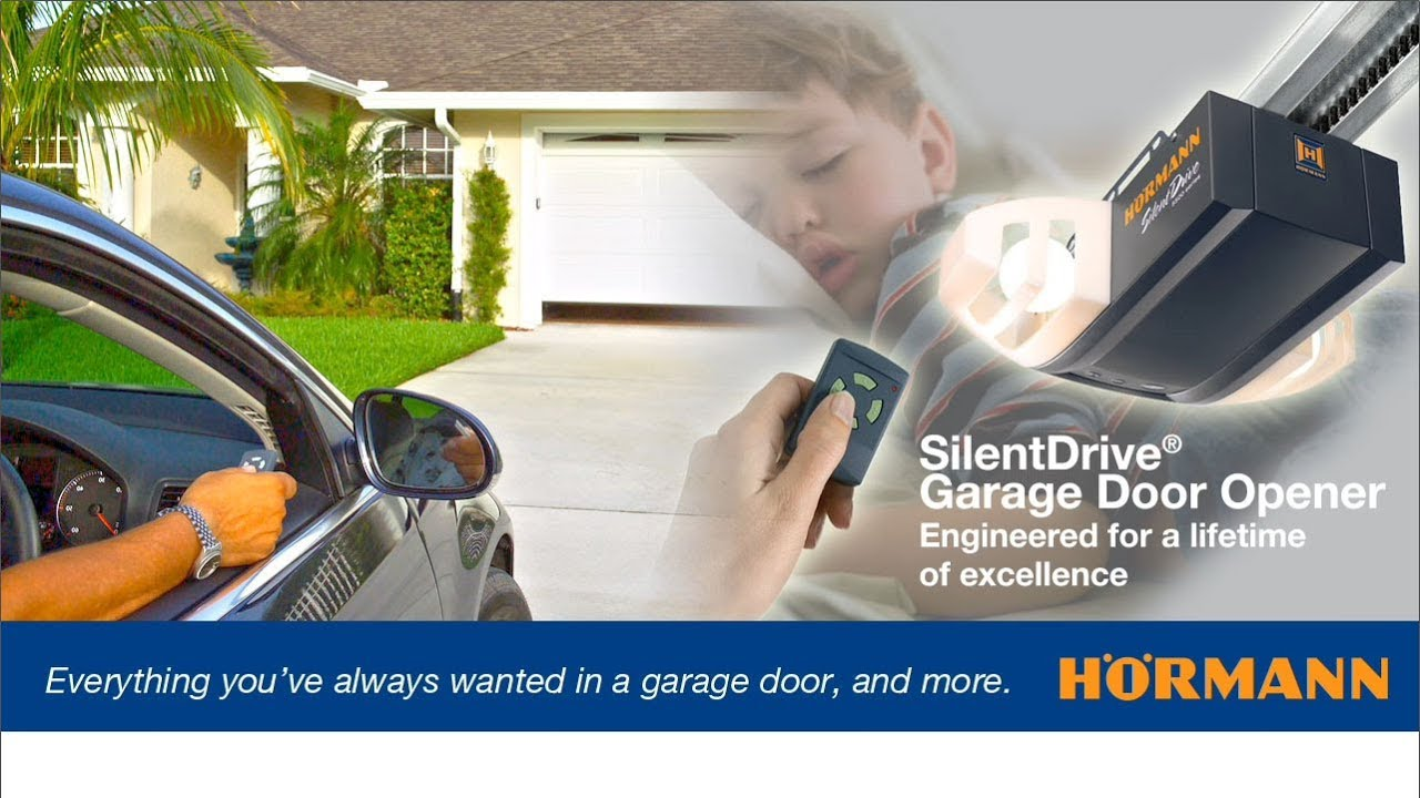 Hrmann Silentdrive Garage Door Openers Youtube