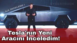 Tesla'nın Yeni Aracı CYBERTRUCK İnceleme