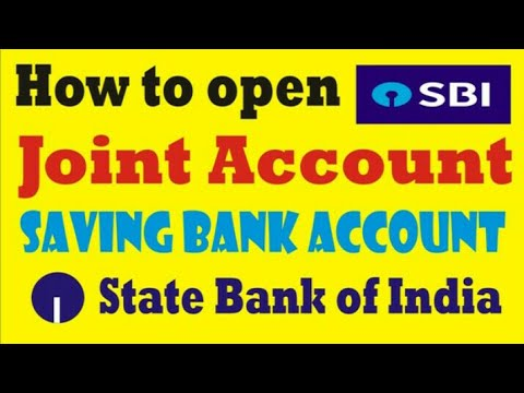 sbi bank joint account application form
