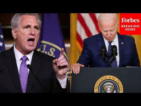 Download JUST IN: McCarthy Attacks Biden For 'Crisis After Crisis,' Surge Of Haitian Migrants In Del Rio