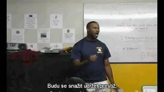 Velmi povzbuzující řeč - motivační proslov trenéra