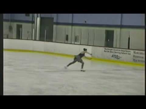 Toni - Jamie Skating Test March 2003