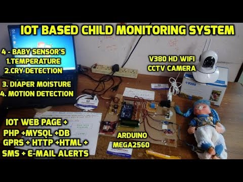 IOT Based Child Monitoring System Using Android Smartphone App with Video Streaming Baby Monitor