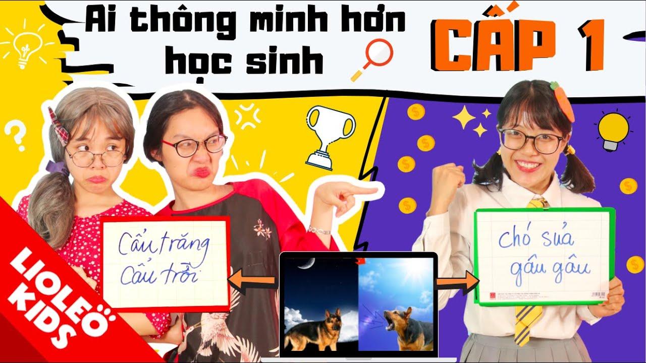 GAMESHOW AI THÔNG MINH HƠN HỌC SINH CẤP 1 - Lee Cie đối đầu Hội cao tuổi, đội nào sẽ vô địch?!