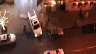 Hit and Run in New York City.