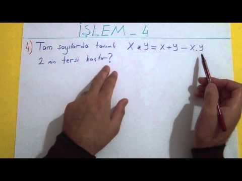 İşlem Soru Çözümü Şenol Hoca Matematik