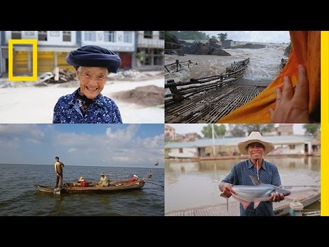 90 Days in 90 Seconds: Life on the Mekong River | National Geographic